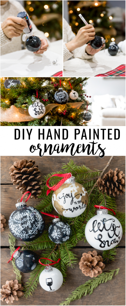 DIY Hand Painted Ornaments | Muprhy-Goode Winery