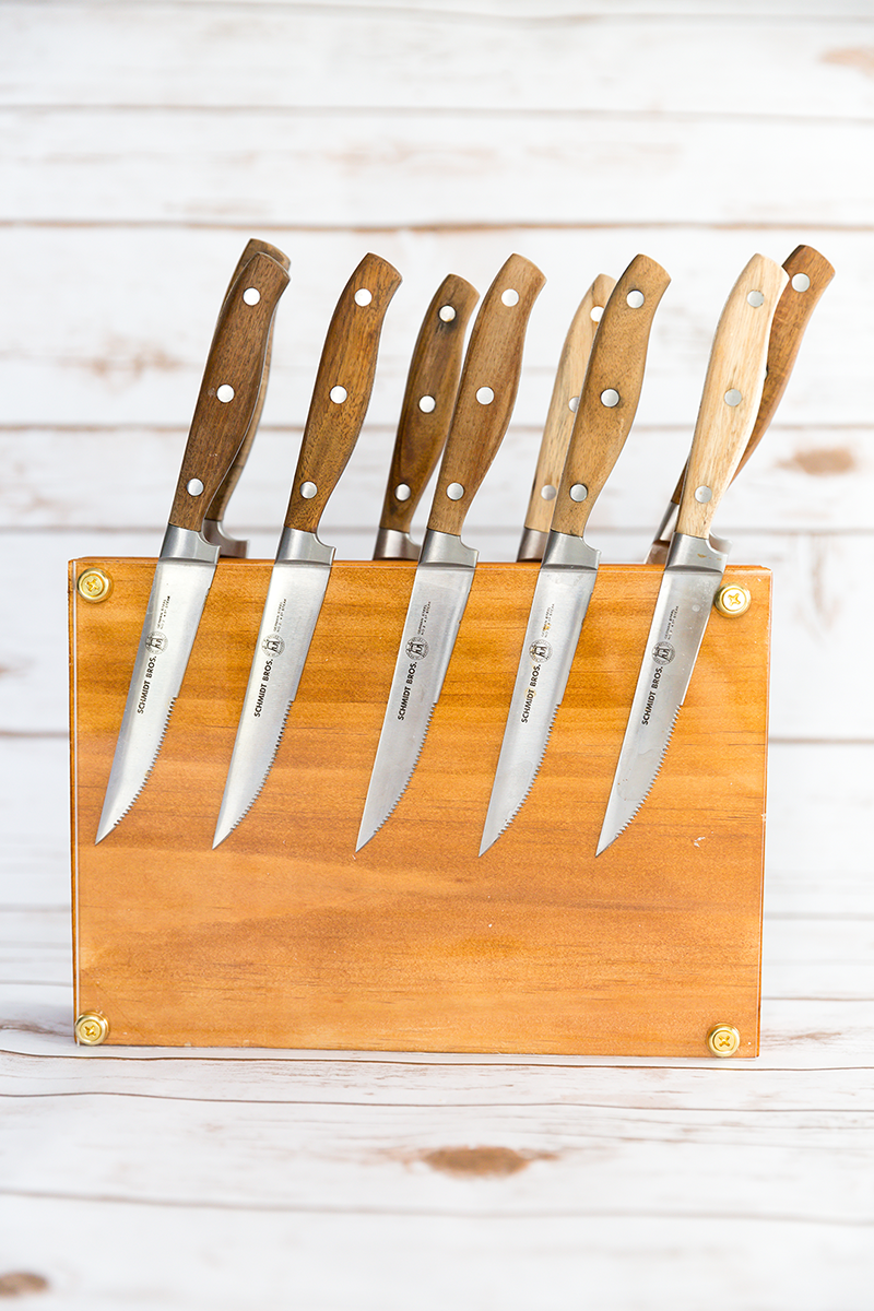 Wood Block Knife Holder