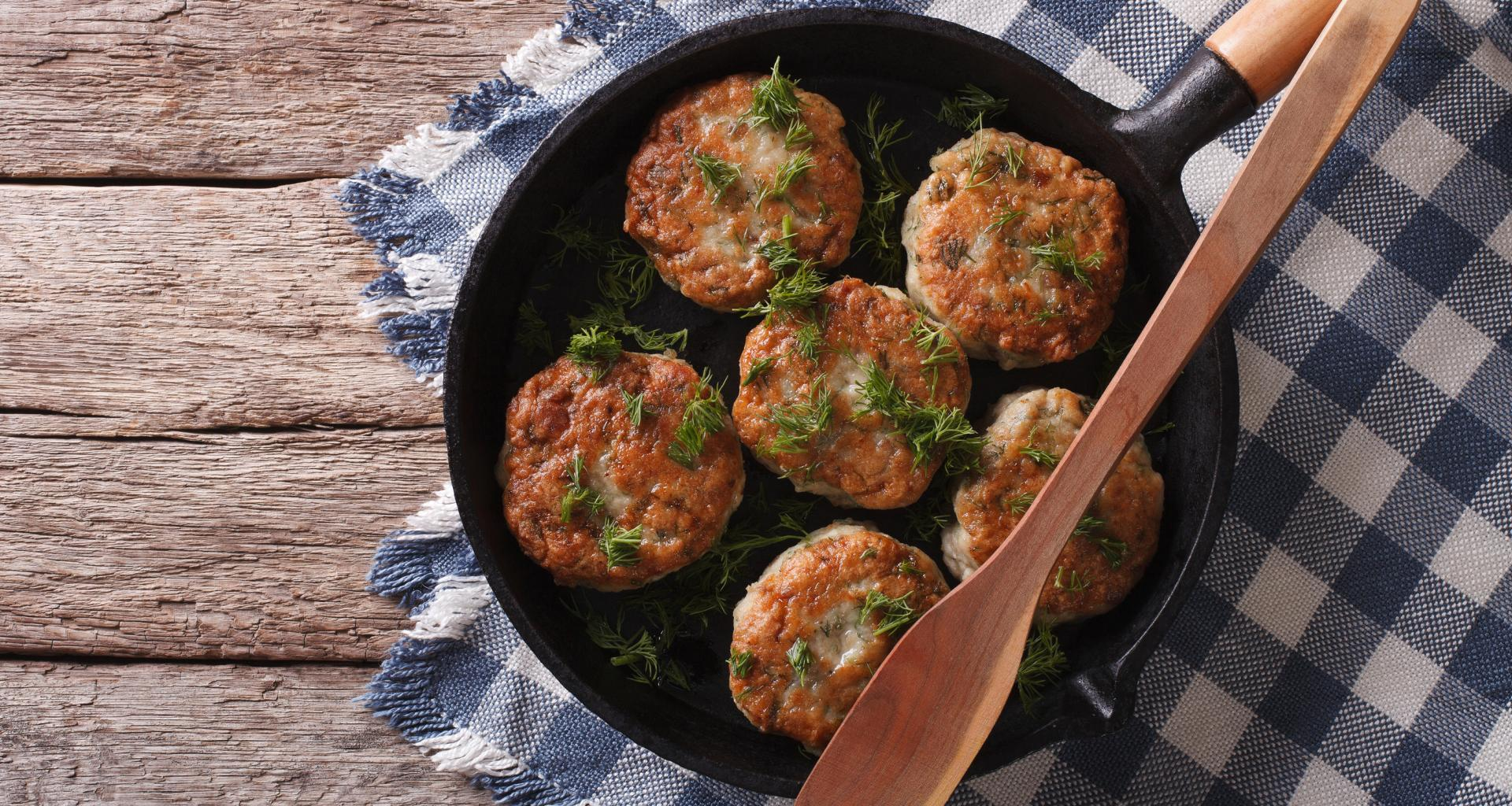 Crab Cakes - Northern California Style