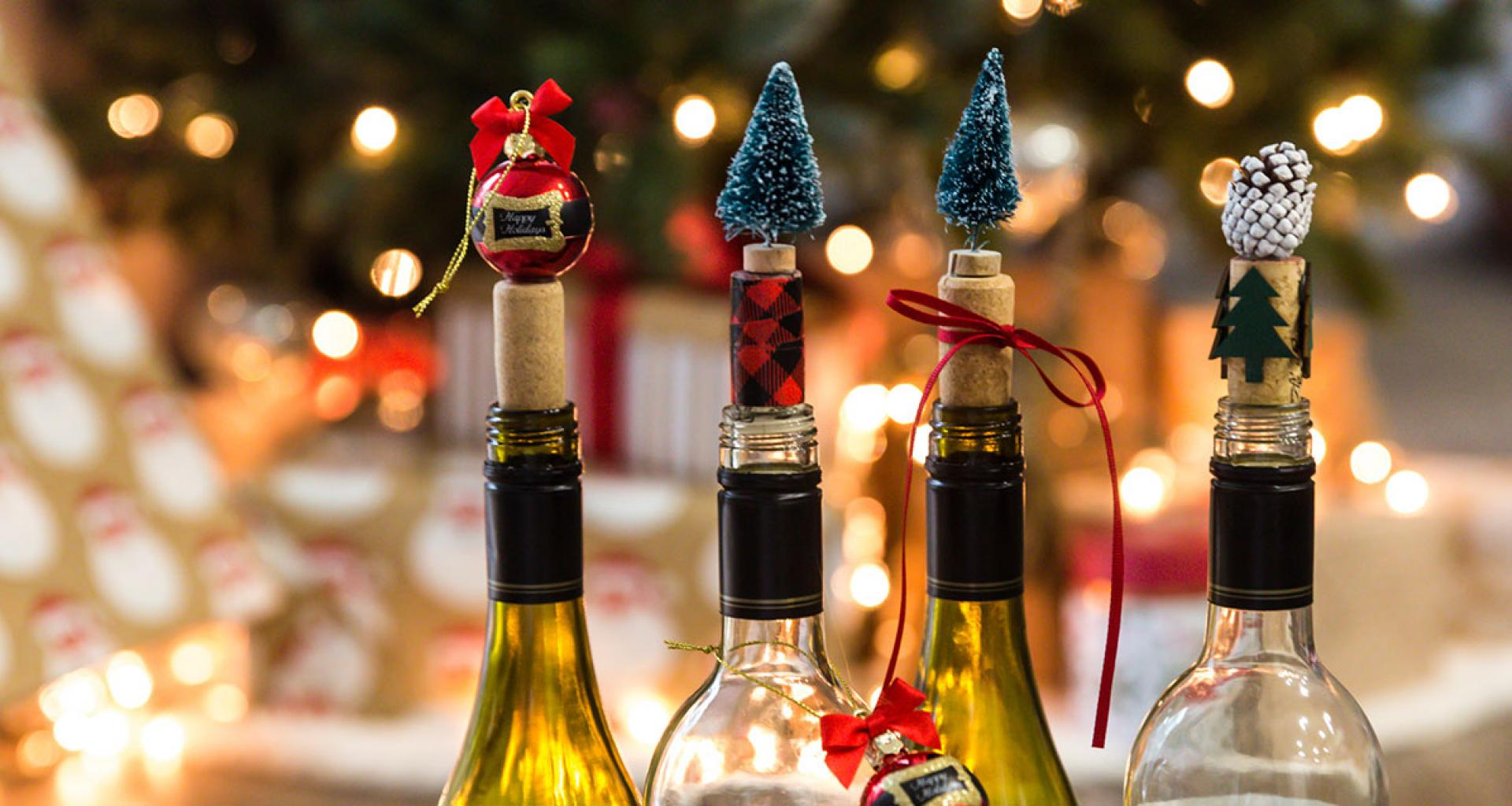 DIT Holiday Wine Stoppers