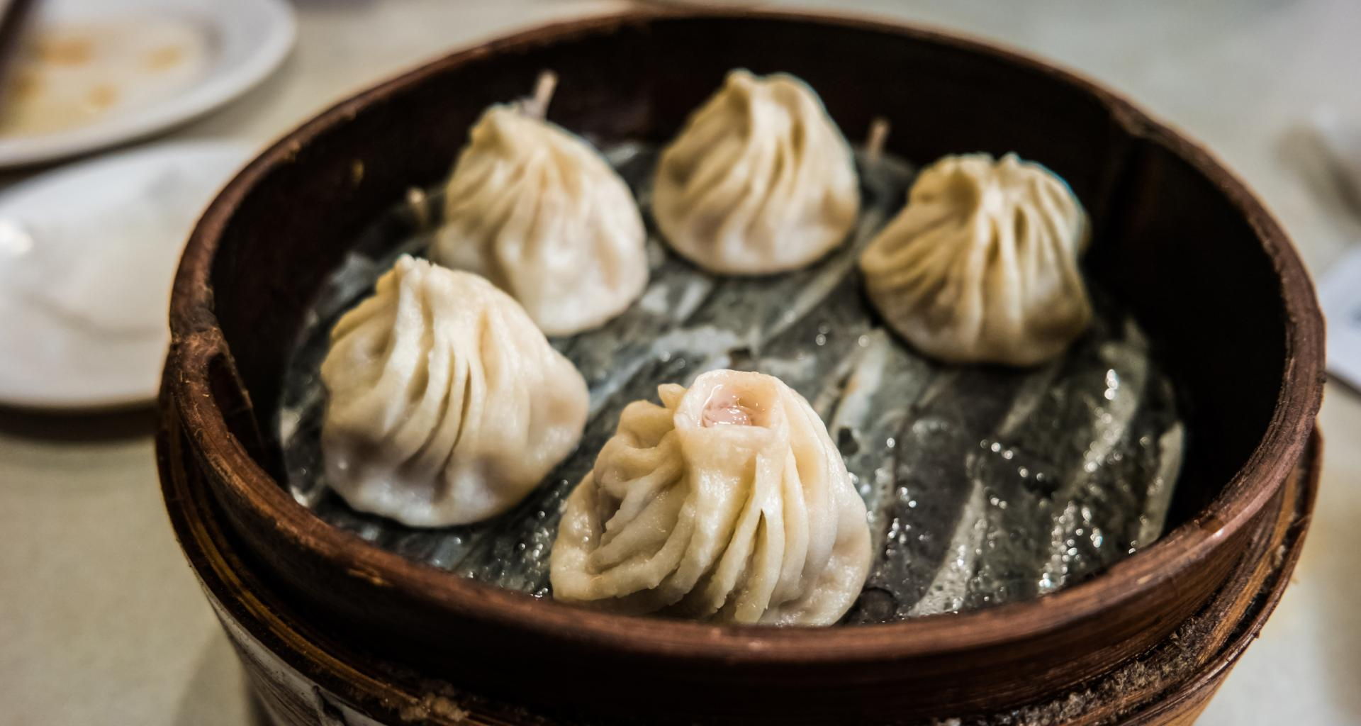 Duck and Pork Dumplings