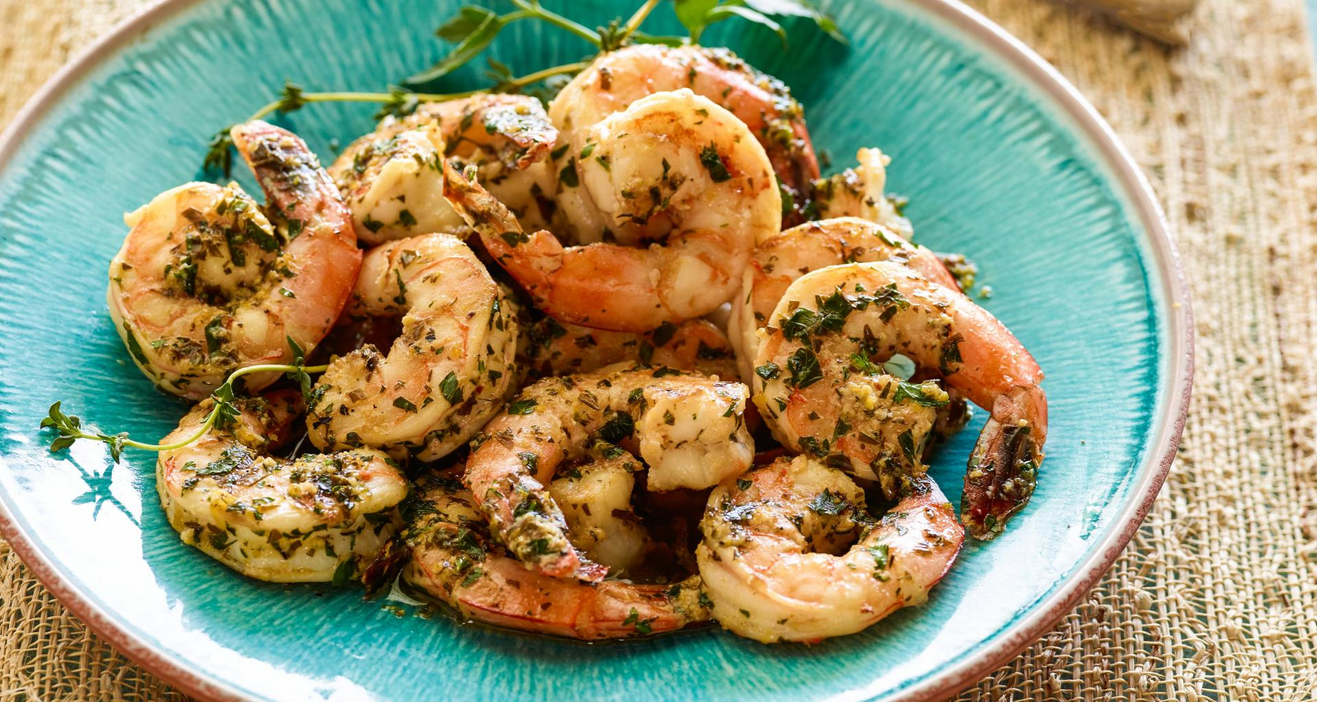 Spiced Smoked Shrimp