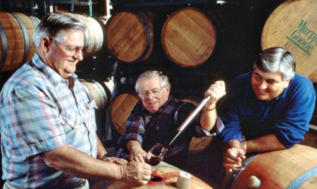 Murphy-Goode Winery founders, Tim Murphy, Dale Goode, and Dave Ready.